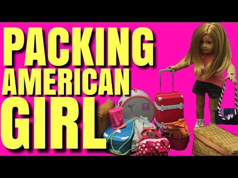 Packing For American Girl Doll Trip To Nashville