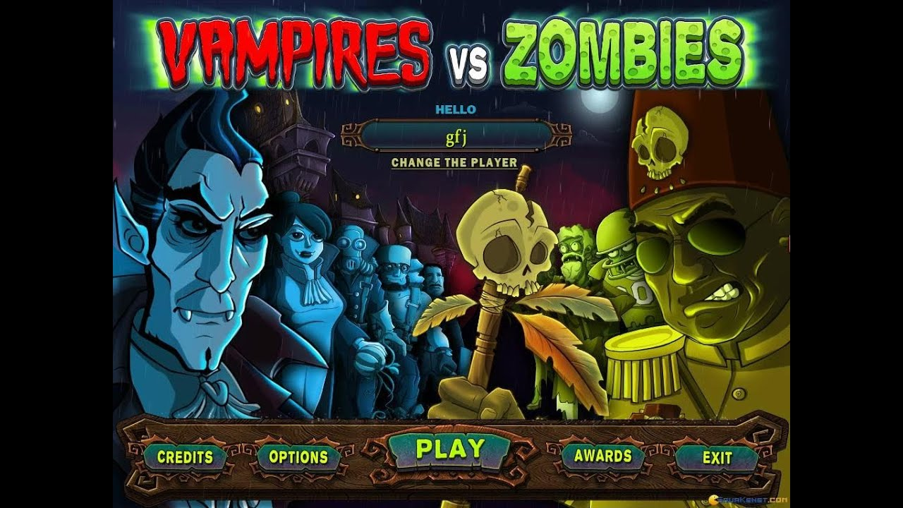 vampires vs zombies pc game free download
