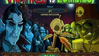 Vampires vs. Zombies gameplay (PC Game, 2011)