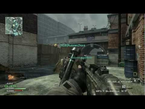 mw3 | gameplay a la mp5 en musique