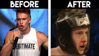 JOE WELLER BEFORE VS AFTER FIGHT **TRASH TALKER**