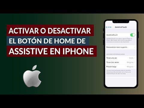 Cómo Activar o Desactivar el Botón Home de Assistive Touch en iPhone 11, iPhone 11 Pro y Pro Max