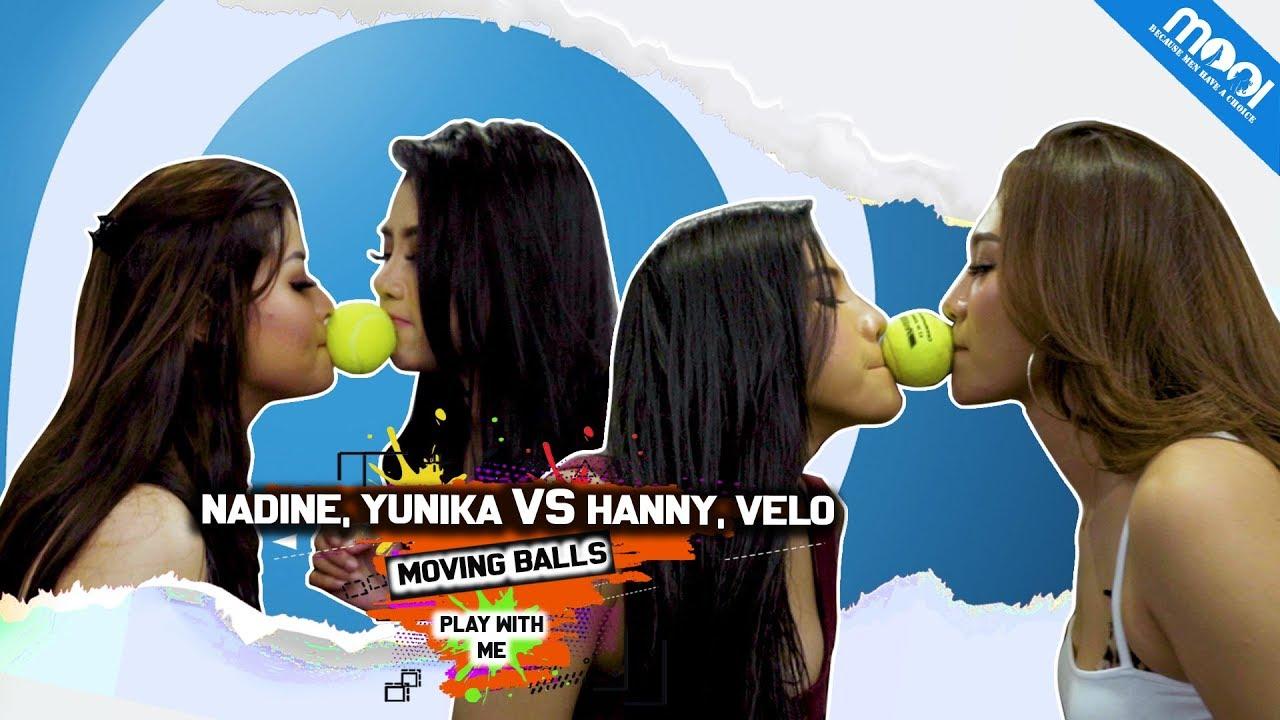 Download NADINE, YUNIKA, HANNY, VELO Menerima Tantangan Buka Baju dan Celana | HOT GAMES MOVE THE BALL