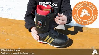2018   Adidas Acerra Snowboard Boots
