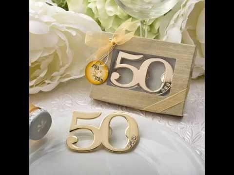 Celebrating 50th Anniversary for Wedding, Birthday, Class Reunion and Gold Milestone