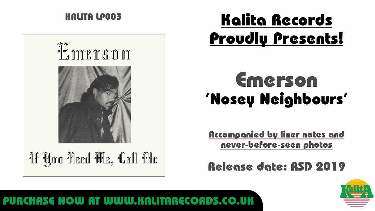 Emerson - Nosey Neighbours (Official)