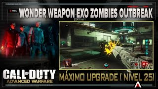 CALL OF DUTY AW - Exo Zombies - Wonder weapon completamente melhorada (Nivel 25)