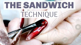 Q&A | THE SANDWICH TECHNIQUE FOR NAILS + TUTORIAL | COLOR APPLICATION | GEL NAILS