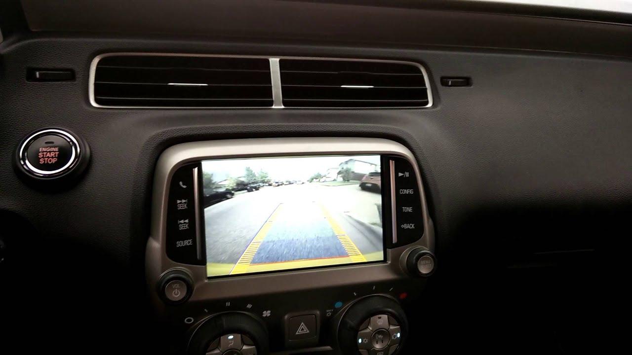 Rearview camera steering guidelines on 2010 Camaro  YouTube