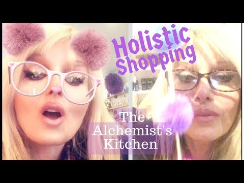 SHOP HOLISTIC WITH ME at The Alchemist's Kitchen in NYC