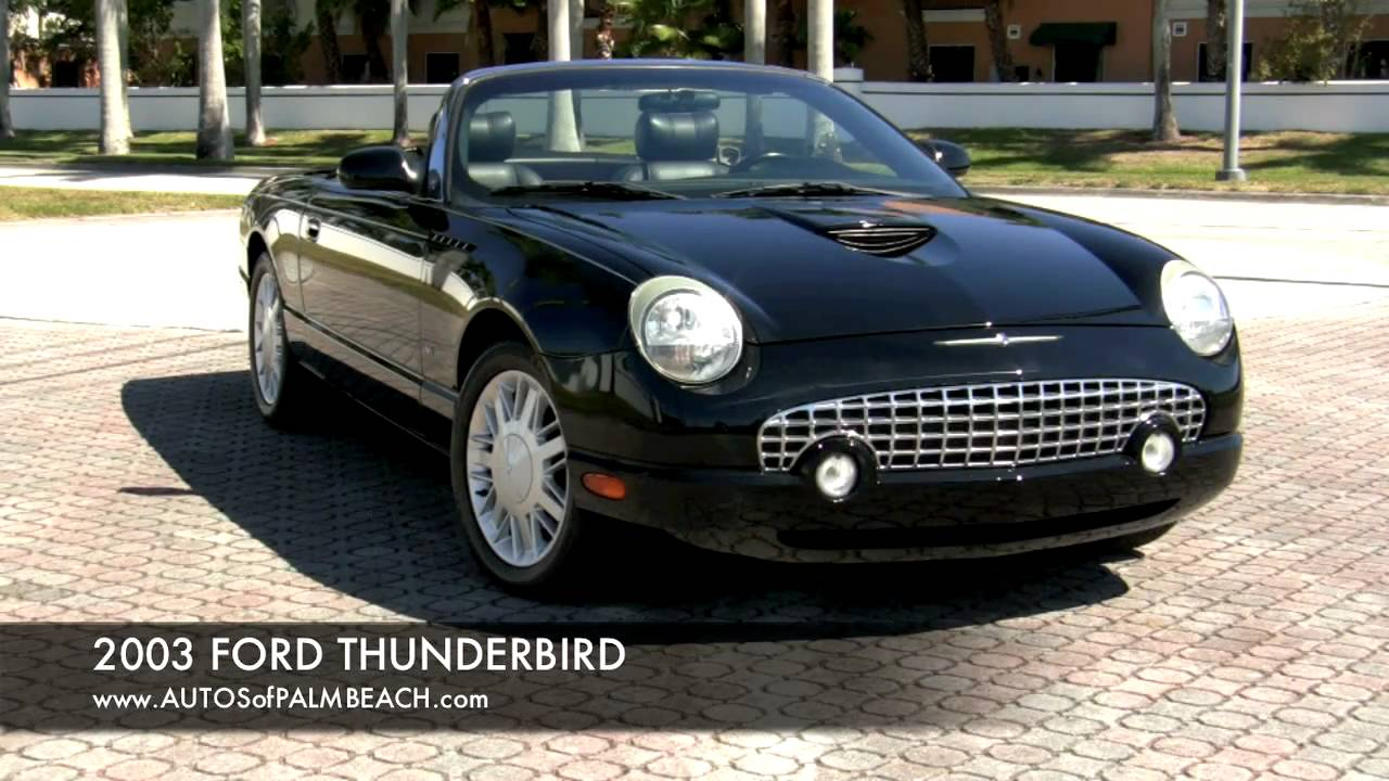 2003 Ford Thunderbird Convertible A2595