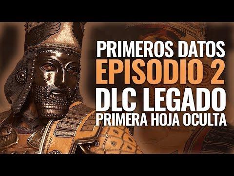 Assassin's Creed Odyssey | LOS PRIMEROS DATOS EPISODIO 2 DLC LEGADO DE LA PRIMERA HOJA OCULTA thumbnail