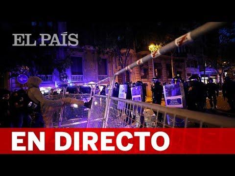 DIRECTO: SENTENCIA PROCÉS | Nueva manifestación en Barcelona