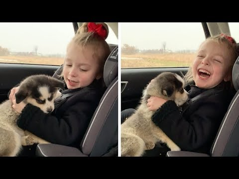 Michelle Taylor - Little Girl and Her New Puppy!!!!