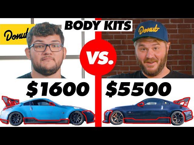 $1600 Body Kit vs. $5500 Body Kit - Donut Media