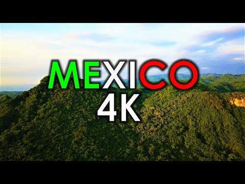 Beautiful Mexico - Drone Footage [4K]