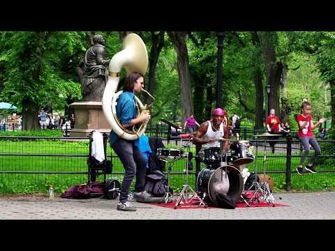 Музыка улиц Манхэттена. | Manhattan Street Music.
