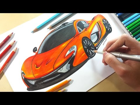Drawing - McLaren P1