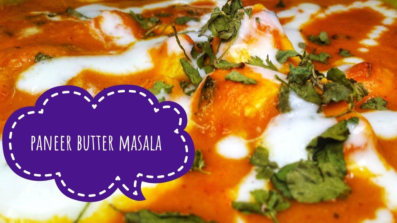 PANEER BUTTER MASALA IN TAMIL | SIDEDISH FOR CHAPATI ...