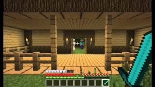 Let's Play Minecraft ep.7 - Daudz lamuvardi un jaunas majas!