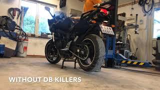 Yamaha FZ6 S2 - serial exhaust vs Beowulf