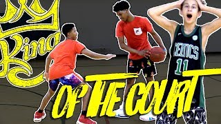 King of The Court feat. Caleb Love and Robert Martin