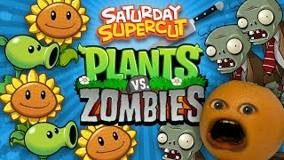 Annoying Orange vs Plants vs Zombies [Saturday Supercut🔪] thumbnail