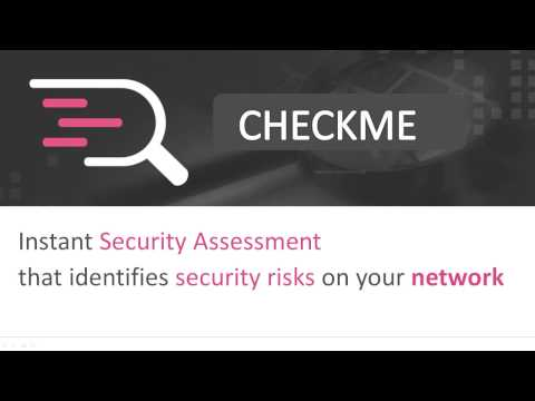 CheckMe: FREE and Instant Network Security Assessment