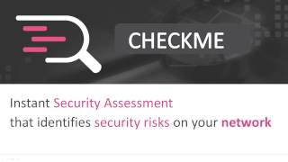 CheckMe: FREE and Instant Network Security Assessment | Cyber Security Scan