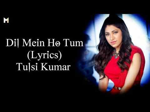 Dil Mein Ho Tum (Lyrics) Tulsi Kumar   Female Version