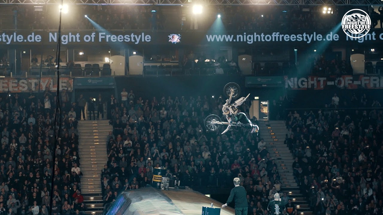 Luc Ackermann Double Backflip @ Night of Freestyle Hamburg