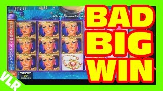 Rhythyms of Rio - BAD BIG WIN - Slot Machine Bonus + RETRIGGER