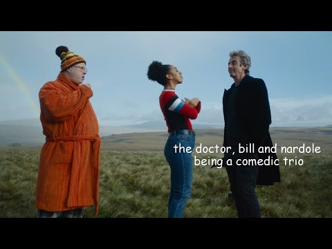 The Doctor, Bill And Nardole Being A Comedic Trio