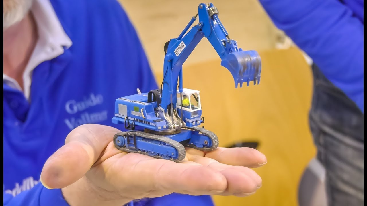 Download Stunning micro scale RC Trucks, Excavators and more!