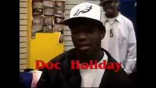 King Los (Bad Boy) vs Doc Holiday (2001 Exclusive ThrowBack Rap Battle) pt 1