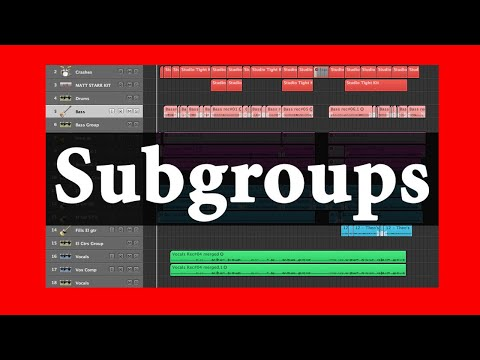 10 Mixing Tips: Subgroups | Theo Nt | theont.com