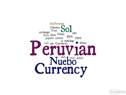 Peruvian  Currency - Nuebo Sol