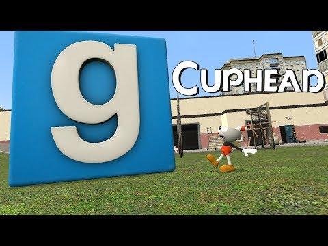 Cuphead in Garry's Mod 1/2 - Construct Mayhem