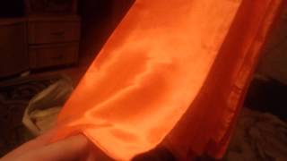 Оранжевые банты для вашей свадьбы. 28шт. Атлас