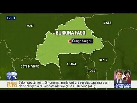 A Ouagadougou, une attaque vise l'ambassade de France