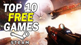 Top 10 Free PC Games on Steam 2020 (Free to Play)