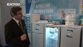 Холодильники на выставке