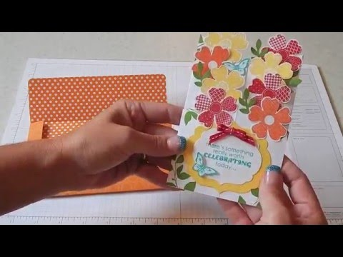 cascading card tutorial youtube