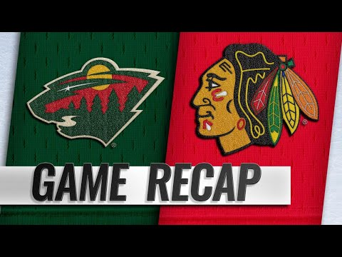 Toews, Crawford lead Blackhawks past Wild, 3-1