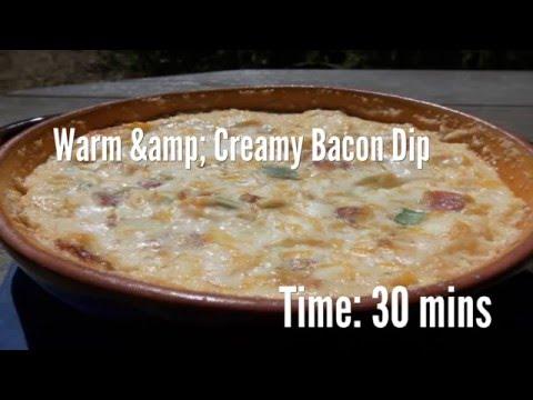 Warm & Creamy Bacon Dip Recipe