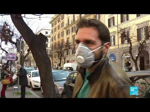 Coronavirus: l'Italie coupée du monde