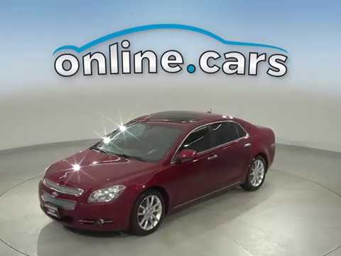 A15214CT Used 2011 Chevrolet Malibu Red Sedan Test Drive, Review, For Sale