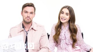 Lily Collins & Nicholas Hoult Answer the Web's Most Searched Questions | WIRED