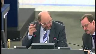 "Nigel Farage: ""Break up the EURO and restore human dignity!"" (ENG + RO subs) = May 22nd, 2012"