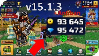 HACK DEFINITIVO PIXEL GUN 3D v15.1.3+ANTIBAN 99,999 GEMAS Y COIN NO ROOT JULIO 2018